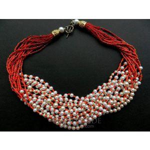 """Necklaces for women """"Ukrainian patterns"""""""