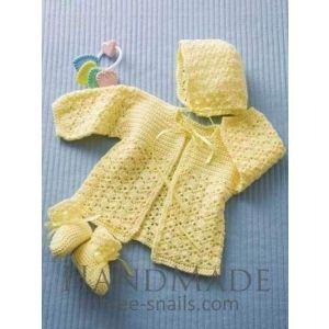 "Newborn crochet outfits ""Mimosa"""