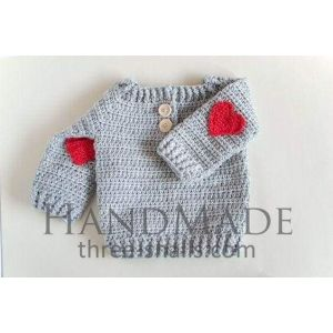 Newborn girl sweater