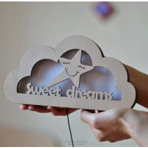 "Night light for kids ""Sweet dreams"""