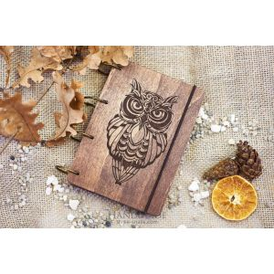 "Notebook journal ""Owl"""