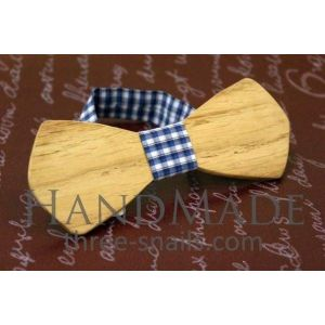 "Oak wood bow tie ""Dude"""