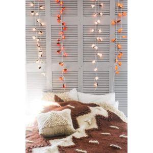 Orange flower lanterns