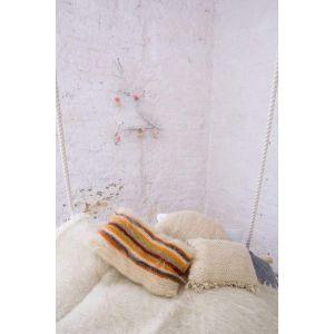 "Organic wool pillow ""Multicoloured dreams"""