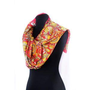 "Pashmina scarf ""Heavenly birds"""