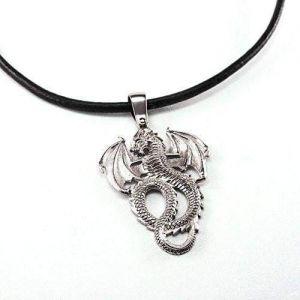 "Pendant ""Silver Dragon"""
