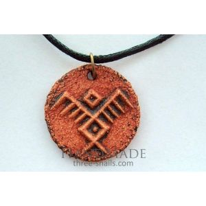 Pendant-talisman «The Symbol of Birds»