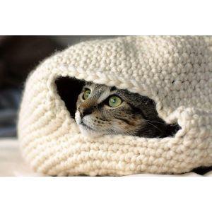"""Pet crochet house """"Cat lifestyle"""""""