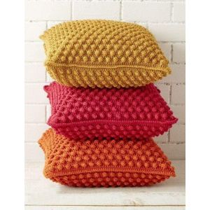 "Pillow case ""Decorative knitting"""