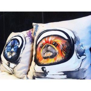 Pillow designs. Set of pillows «Space friends»