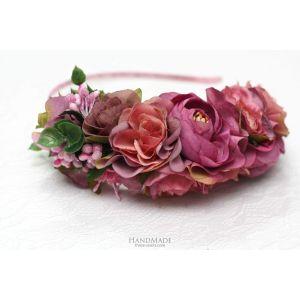"Pink roses hair peace ""Pink rhapsody"""