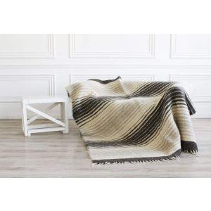 """Plaid blanket """"Wool"""""""