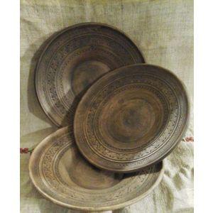 "Pottery bowl  ""Hollyhock"""