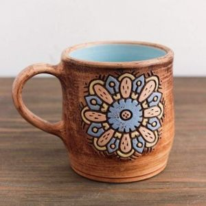 "Pottery cups ""Flower"""