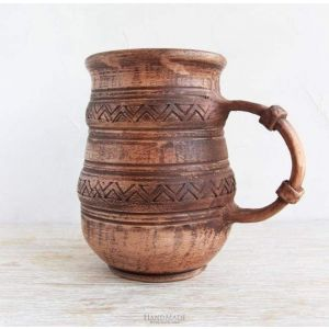 "Pottery mugs ""Zigzag"""