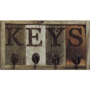Reclaimed Key Rack