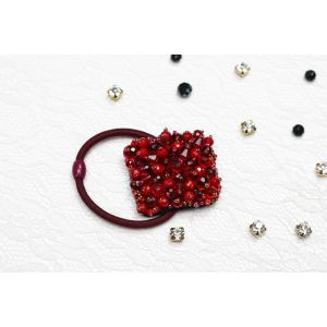 "Red hair tie ""Red love"""