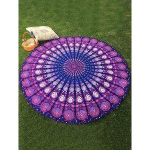 Round picnic towel