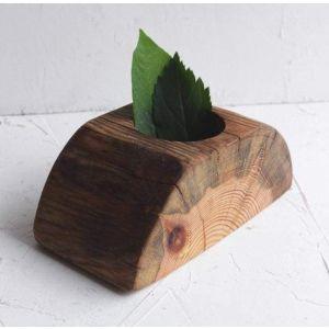 "Rustic pot for succulent ""Garden"""