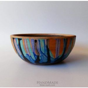 "Сeramic bowls ""Blue mood"""