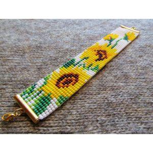 "Сharm bracelets ""Sunflower"""
