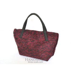 """Shopping bag """"Bordo style"""""""