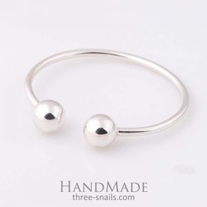 "Silver bracelet  for ladies ""Small beads"""
