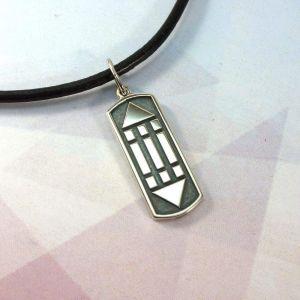 "Silver pendant ""Sign of Atlantis"""