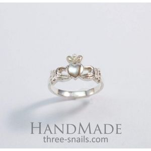 "Silver rings for women ""Irish legend"""