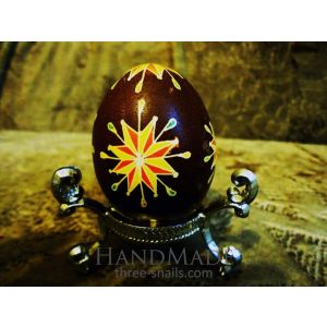 «Single Star» pysanka (Easter egg)