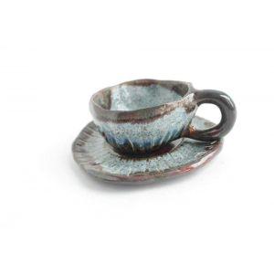 "Small ceramic cup ""Fog"""