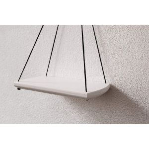 Small hanging shelf white