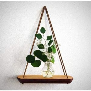 "Small hanging wall shelf ""Eco spirit"""