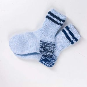 "Socks for winter ""Stripes"""
