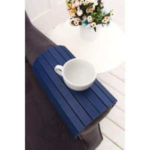 Sofa tray blue