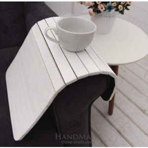 Sofa tray white
