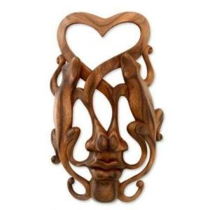 Song Of Love wood mask