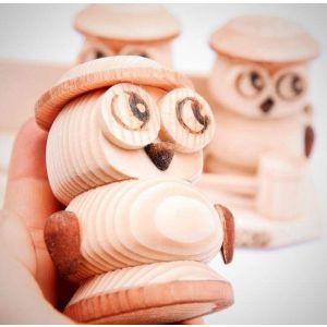 "Spice container ""Owl"""