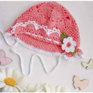 "Сrochet kids hats ""Coral lace"""