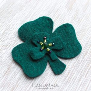 "St Patrick's day accessory ""Elegant Green"""