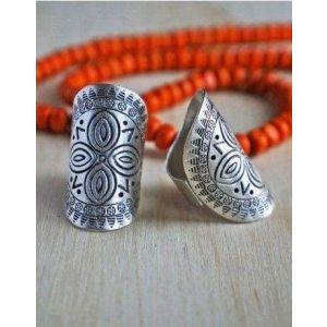 Statement Mandala ring