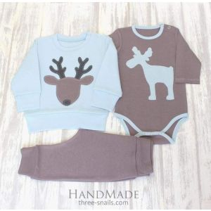 "Сute baby boy outfits ""Buck Jack"""