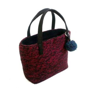 "Tote handbags ""Burgundy"""