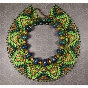 "Traditional jewelleryset ""Sylyanka and necklace"""