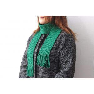 "Transformers scarf ""Green spring"""