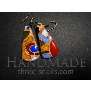 "Tribal earrings ""Madagascar"""