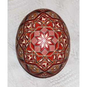 Ukrainian Pysanka «Geometry»