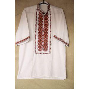"Ukrainian vyshyvanka ""Red lozenge pattern"""