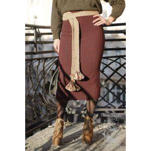 """Ukrainian woven belt (krayka) """"Coffee Queen"""""""