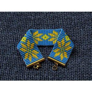 """Unique bracelet """"Ukraine"""""""